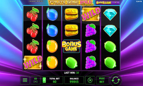 Fruits Gone Wild Deluxe free slot