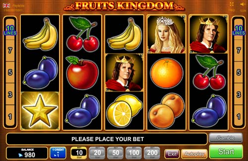 Fruits Kingdom free slot