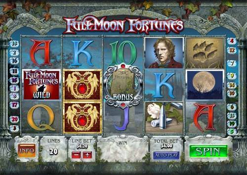 Full Moon Fortunes free slot