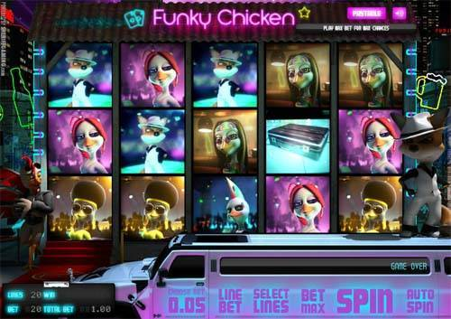 Funky Chicken free slot
