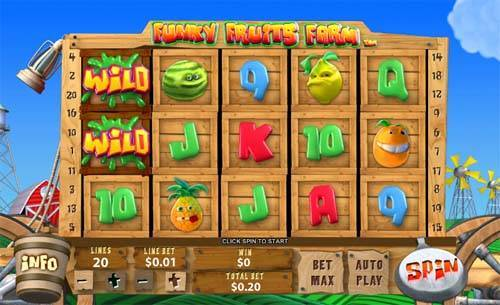 Funky Fruits Farm free slot