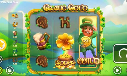 Gaelic Goldbuy feature slot
