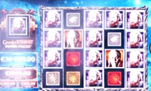 Game of Thrones Power Stacks free slot