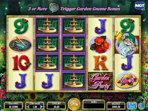 Garden Party casino slot