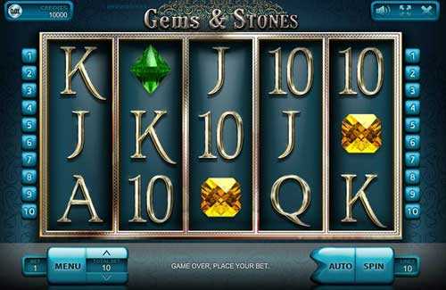 Gems and Stones free slot
