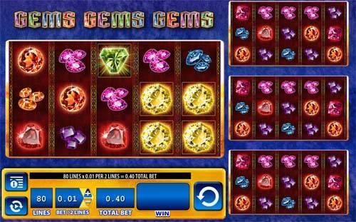 Gems Gems Gems free slot