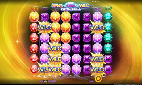 Gems Gone Wild Power Reels free slot