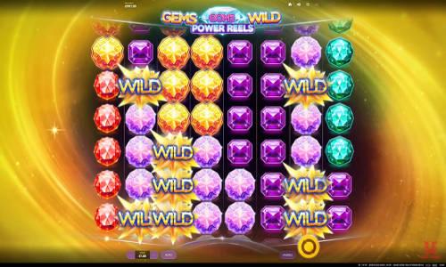 Gems Gone Wild Power Reelssticky wilds slot