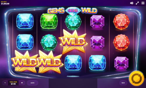 Gems Gone Wild free slot
