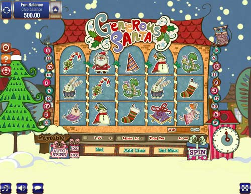 Generous Santa free slot