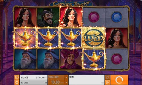 Genies Touch QuickSpin Online Slots for Real Money - Rizk.com