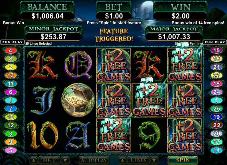 Ghost Ship free us slot