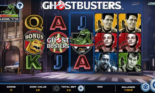 Ghostbusters Plus free slot