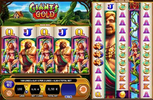 Giants Gold casino slot