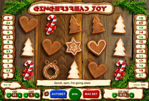 Gingerbread Joy free slot