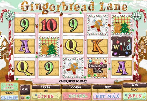 Gingerbread Lane free slot