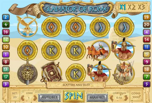 Gladiators of Rome™ Slot Machine Game to Play Free in 1x2 Gamings Online Casinos