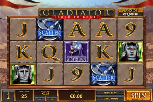 Gladiator Road to Rome free slot