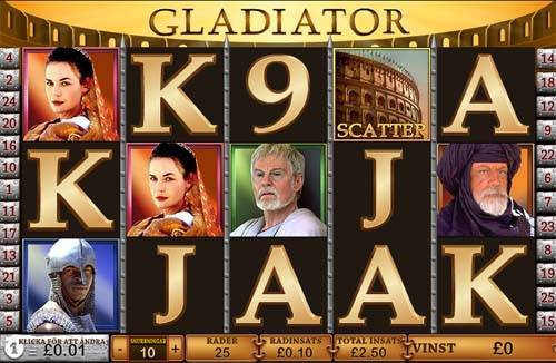 Gladiator casino slot