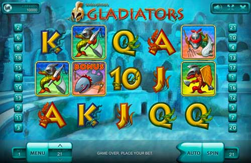 Gladiators free slot