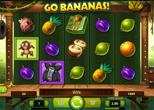Go Bananas casino slot
