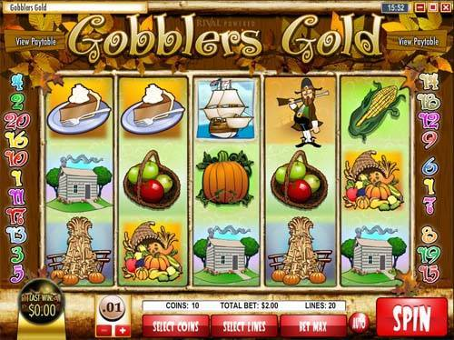 Gobblers Gold free slot