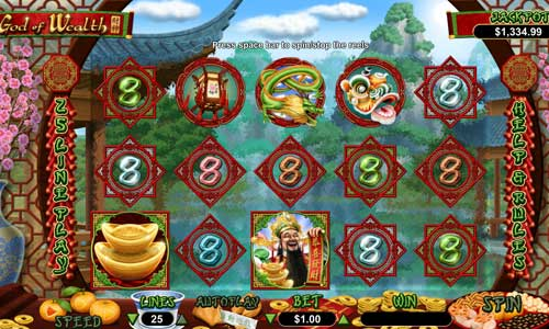God of Wealth free slot