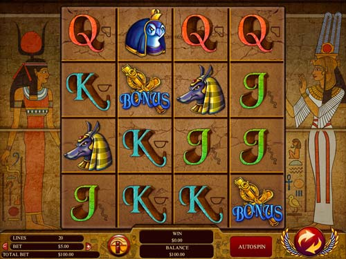Gods of Giza free slot