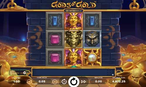 Gods of Gold INFINIREELS free slot