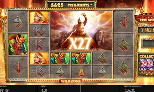 Gods of Olympus Megaways free slot