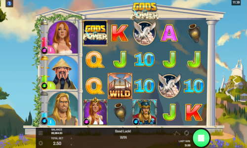 Gods of Power free slot