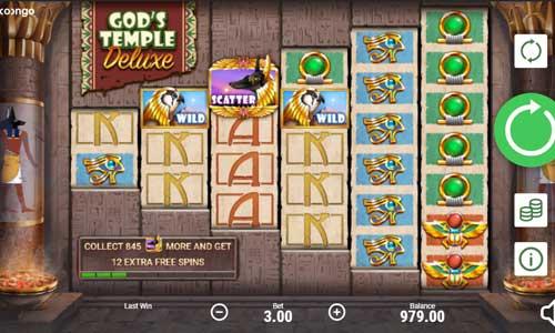Gods Temple Deluxe free slot