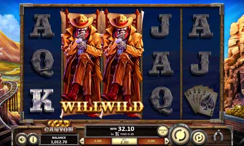 Gold Canyon free slot