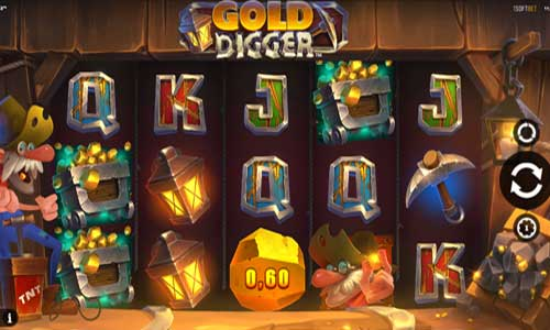 Gold Diggersymbol upgrade slot