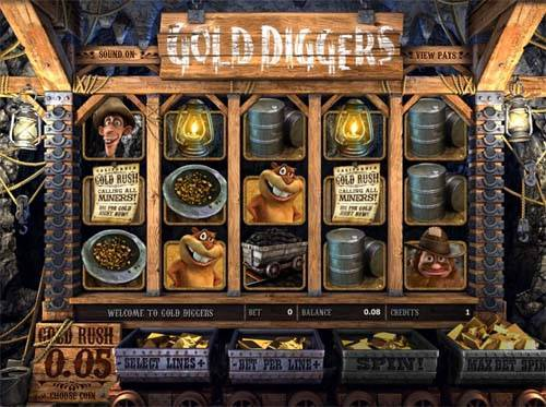 Gold Diggers free us slot