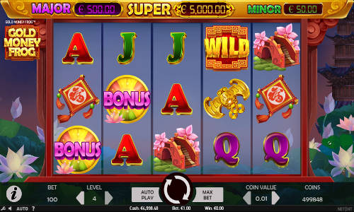 Gold Money Frog free slot