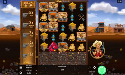 Gold N Rocks free slot