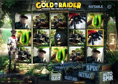 Gold Raider casino slot