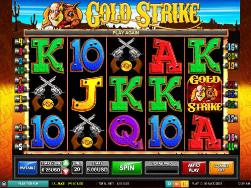 Gold Strike free slot