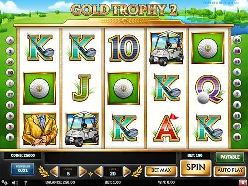 Gold Trophy 2 free slot