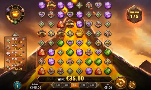 Gold Volcano casino slot