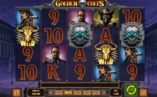 Golden Coltscolossal symbols slot