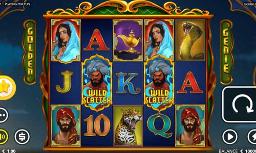 Golden Genie and the Walking Wildsbuy feature slot