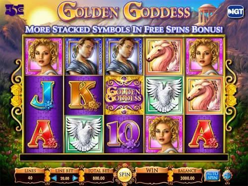 Golden Goddess free slot