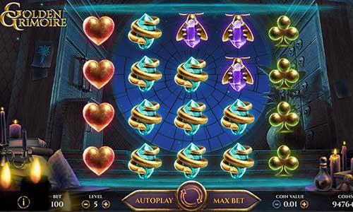 Golden Grimoire free slot