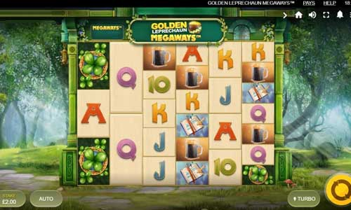 Golden Leprechaun Megaways free slot