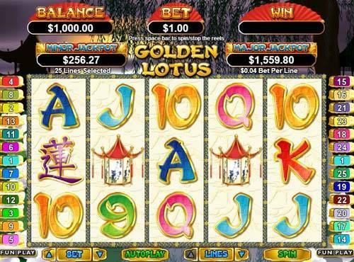 Golden Lotus free slot