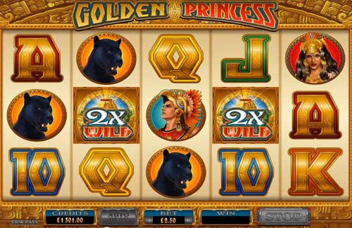 Golden Princess free slot