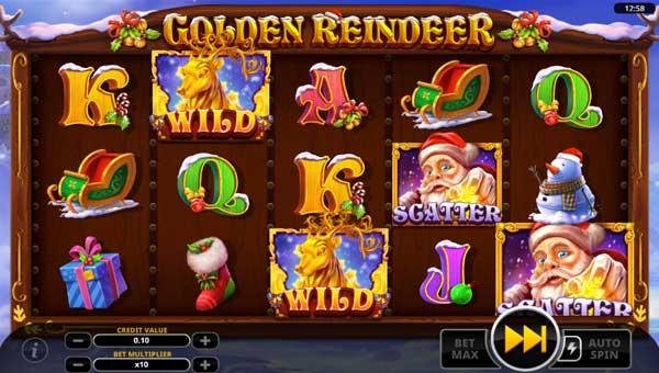 Golden Reindeer casino slot
