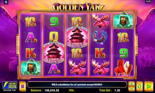 Golden Yak casino slot
